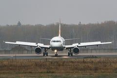 Linhas aéreas de Airbus A319-100 Germanwings no aeroporto Fotografia de Stock Royalty Free