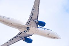 Linhas aéreas de Boeing 737-86N VQ-BIZ Yakutia foto de stock royalty free