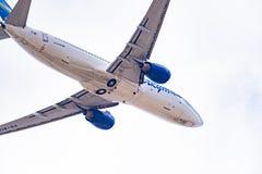 Linhas aéreas de Boeing 737-86N VQ-BIZ Yakutia imagem de stock royalty free