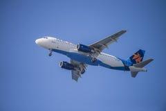 Linhas aéreas de Israir, Israel, Airbus a320-232 Foto de Stock Royalty Free