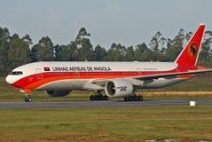 Linhas aéreas de TAAG Angola Foto de Stock