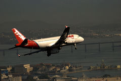 Linhas aéreas de TAM, Rio de Janeiro Fotografia de Stock