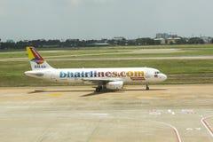 Linhas aéreas do BH no aeroporto de Ho Chi Minh fotografia de stock