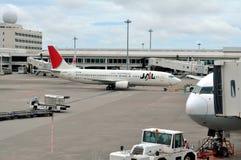 Linhas aéreas do JAL de Japão fotografia de stock
