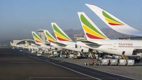 Linhas aéreas etíopes imagem de stock royalty free