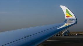 Linhas aéreas etíopes foto de stock