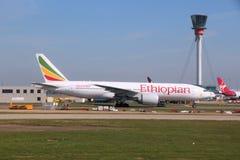 Linhas aéreas etíopes imagem de stock
