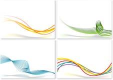 Linhas abstratas Fotos de Stock