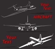 Linhas abstratas ajustadas ilustração do logotipo plano do vetor Imagens de Stock Royalty Free