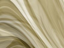 Linhas abstratas da onda do fumo Fotografia de Stock Royalty Free