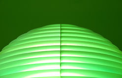 Linhas abstratas verdes Fotos de Stock Royalty Free