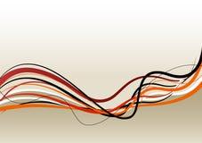 Linhas abstratas. Vetor Imagem de Stock