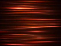 Linhas alaranjadas da velocidade do fogo Conduzindo o fundo do vetor do sumário do movimento do borrão ilustração stock