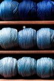 Linhas azuis Foto de Stock