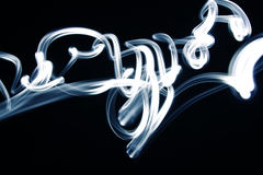 Linhas azuis Foto de Stock Royalty Free