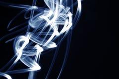 Linhas azuis Imagens de Stock Royalty Free