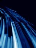 Linhas azuis abstratas Fotografia de Stock