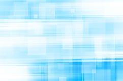 Linhas azuis abstratas fundo quadrado Foto de Stock Royalty Free