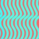 Linhas azuis da onda Fotos de Stock