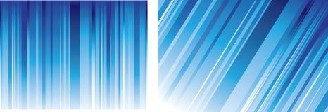 Linhas azuis fundos Fotografia de Stock Royalty Free