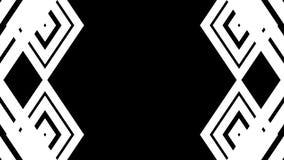 Linhas brancas abstratas Fundo da tecnologia Imagem de Stock Royalty Free