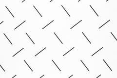 Linhas brancas do preto do whith do fundo Imagens de Stock Royalty Free