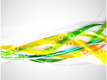 Linhas coloridas Imagens de Stock Royalty Free