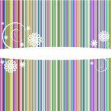 Linhas coloridas abstratas tampa Imagens de Stock