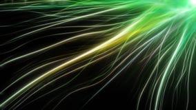 Linhas coloridas da energia longa abstrata Imagem de Stock
