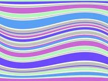Linhas coloridas da ilustração. Vetor Foto de Stock Royalty Free