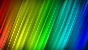 Linhas coloridas de Ddiagonal rendição 3D abstrata ilustração royalty free