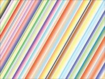 Linhas coloridas fundo Imagens de Stock Royalty Free