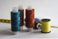 Linhas coloridas para o bordado Imagem de Stock Royalty Free