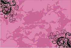 Linhas cor-de-rosa do estilo Foto de Stock
