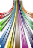 Linhas curvadas Fotografia de Stock Royalty Free