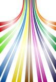 Linhas curvadas Imagens de Stock