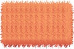 linhas 3D peludos coloridas ilustração stock