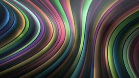 Linhas da abstração Fotografia de Stock Royalty Free