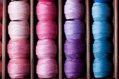 Linhas da cor-de-rosa e do azul Imagem de Stock Royalty Free