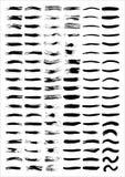 Linhas da escova Imagens de Stock Royalty Free