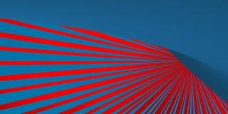 Linhas da perspectiva com fundo borrado Foto de Stock