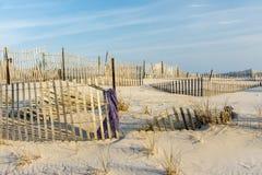 Linhas da praia Foto de Stock