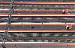 Linhas da trilha Railway Fotografia de Stock Royalty Free