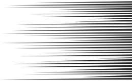 Linhas da velocidade ajustadas ilustração royalty free
