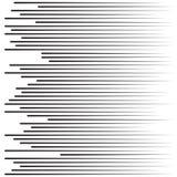 Linhas da velocidade Partículas de voo Lute raios de Sun da textura de Manga do selo ou a explosão gráfica da estrela Fotos de Stock