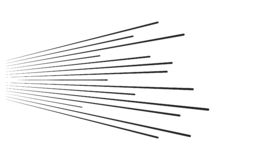 Linhas da velocidade que v?m da esquerda para a direita fundo ilustração stock