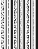 Linhas das borboletas Imagem de Stock