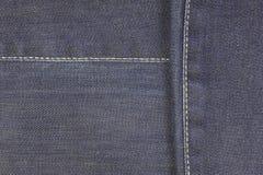 Linhas das calças de brim Fotografia de Stock Royalty Free