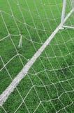 Linhas de campo do futebol Fotos de Stock