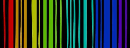 Linhas de cor ilustração stock